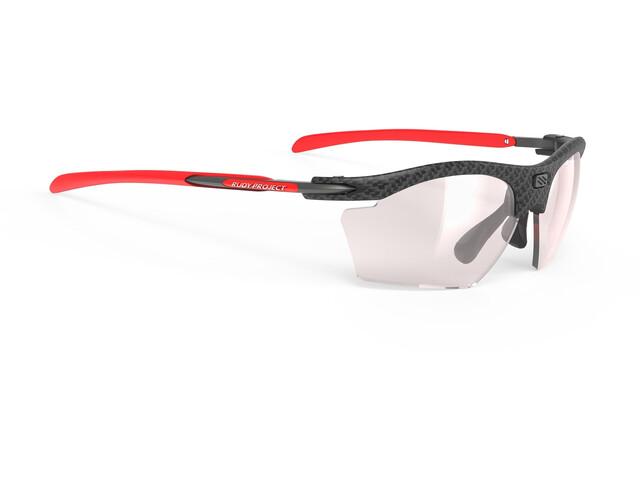 Rudy Project Rydon Slim Okulary rowerowe, czarny/czerwony